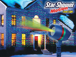 Star Shower Motion Laserlys
