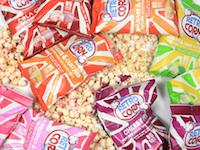 Sjove popcorn med smag