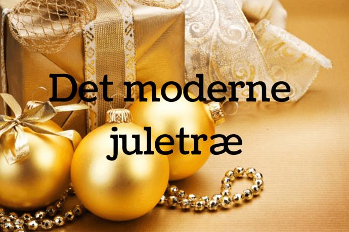 Alt til det moderne luksus juletræ