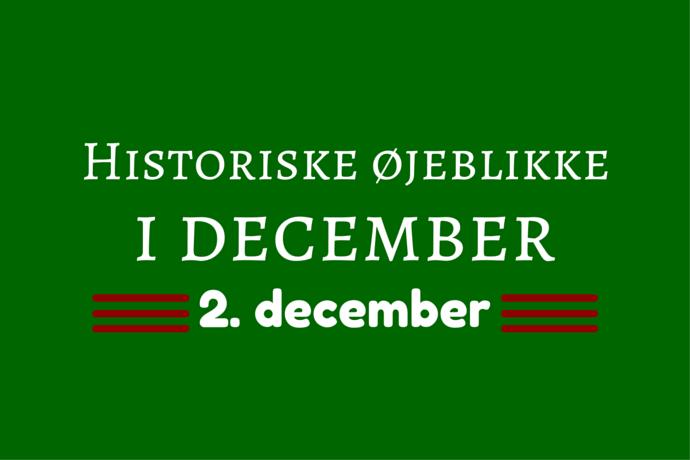 Julemånedens historie – 2. december