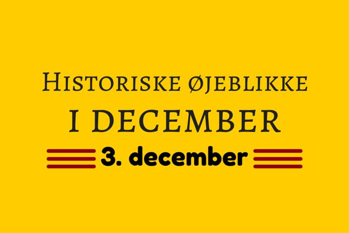 Julemånedens historie – 3. december