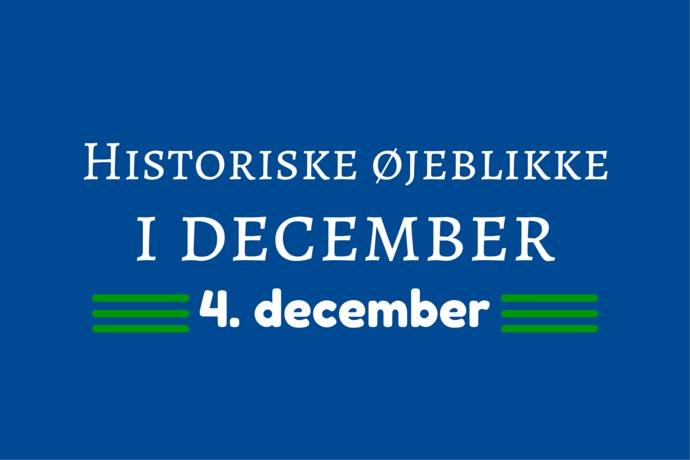 Julemånedens historie – 4. december