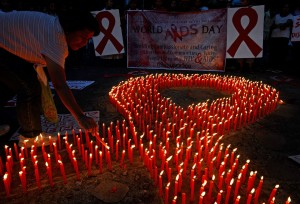 Rød Aids sløjfe
