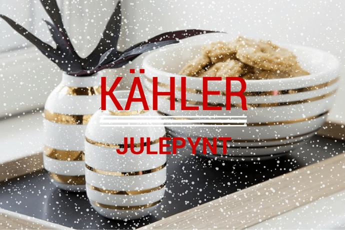 Flot luksus julepynt fra Kähler