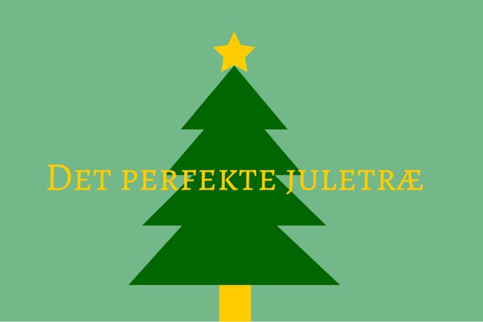 Find det perfekte juletræ