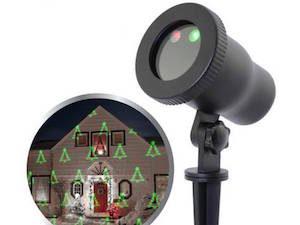 Julelys projektor 5 mønstre