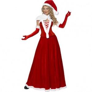 fc129f57 Julemor kostumer → De bedste julekone og nissepige kostumer til ...