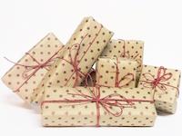Maggies gaver til pakkeleg