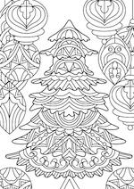 Juletræ tegning